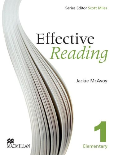 EFFECTIVE READING 1 Elem Sts: Student Book Elementary