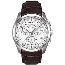 Tissot Couturier - Reloj (Reloj de Pulsera, Masculino, Acero Inoxidable, Plata,
