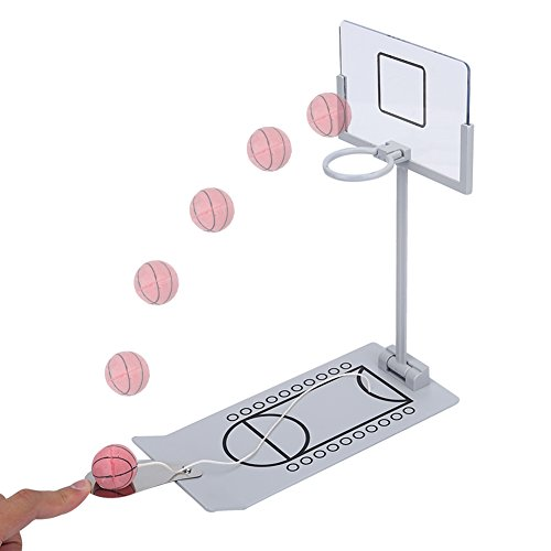 Mini Basketball Sets, Gefedert Tischbasketball Spiel Faltbare