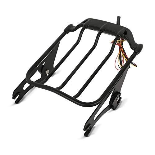 Porte-bagages Air Wing LED Feux Arrière pour Harley Davidson Road King Special 17-20 noir detachable