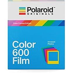 Polaroid Originals 4672 Film Couleur pour Appareil Polaroid 600, Cadre Coloré