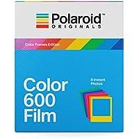 Polaroid Originals 4672 Film couleur pour Appareil Polaroid 600 - cadre coloré