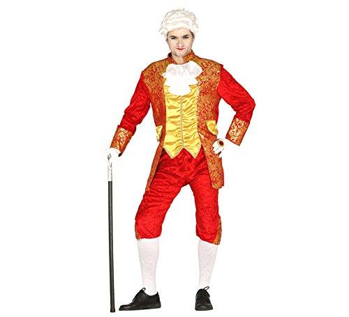 Fürsten Erwachsene Für Kostüm - GRAF Kostüm im Barock Stil für Herren Gr. M und L, Größe:L