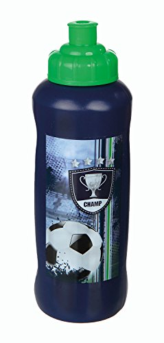- Sportflasche Football Cup, 450 ml, blau ()
