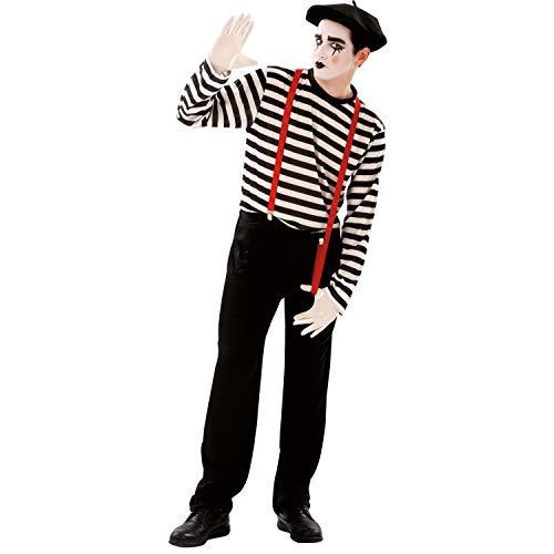 Disfrazzes My Other Me Me - Pantomime Kostüm für Männer, M-L (Viving Kostüme 200565)