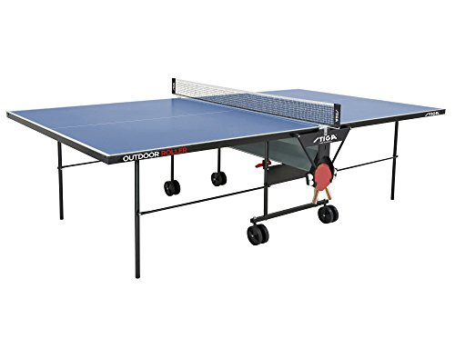 Stiga Tischtennisplatte Outdoor Roller
