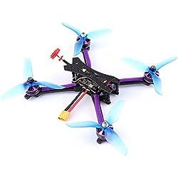 Goolsky 215mm 5.8G 48CH 2-6S Blheli-S 800TVL Cámara FPV Racing Drone DIY Kit para Entrenamiento de la Competencia