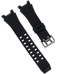 Reloj Calypso de caucho negro brazalete deportivo-material para Calypso K5619 relojes