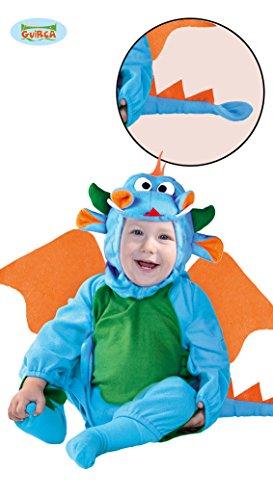 Kostüme Grün Monster Baby Baby (Baby Drache - Kostüm für Kinder Gr. 86-98,)
