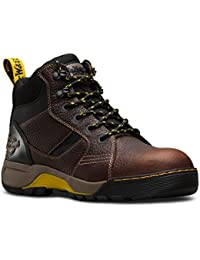 Dr. Martens DM Docs Grapple ST Brown S1P Steel Toe Cap Leather Work Safety Boots PPE