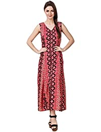 Mind The Gap American Crepe Red A-line Dress