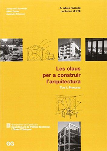 Portada del libro CLAUS PER A CONSTRUIR I-PRINCIPIS