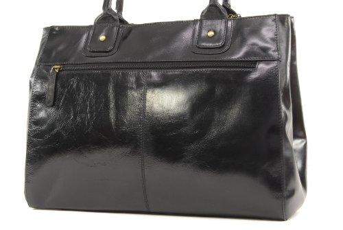 Borsa tote grande in pelle a spalla di Catwalk Collection