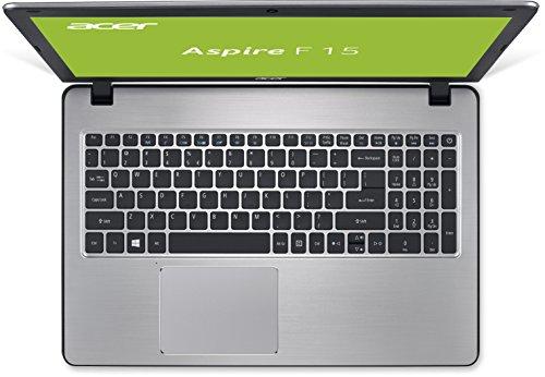 Acer Aspire F 15 F5 573G 75F6 396 cm 156 Zoll FHD show Notebook Intel core i7 7500U 8 GB RAM GeForce GTX 950M 128 GB SSD Win 10 residential QWERTY NL Tastatur silber Notebooks