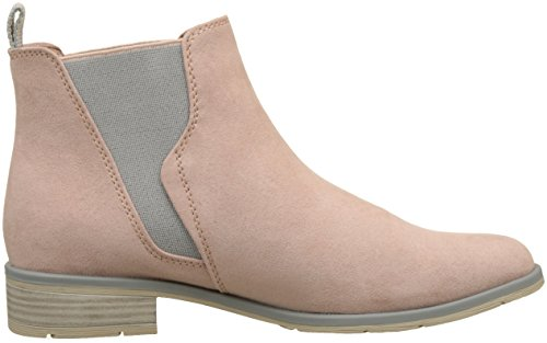 Marco Tozzi Damen 25321 Chelsea Boots Rot (Rose Comb)