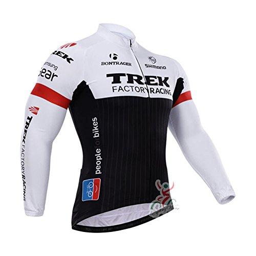 Strgao 2016 Herren Winter Radtrikot Pro Team Trek MTB Thermal Langarm Radjacke Radfahren Oberteil