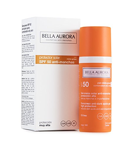 Bella Aurora Gel Solar SPF 50 Antimanchas Piel Mixta-Grasa – 50 ml