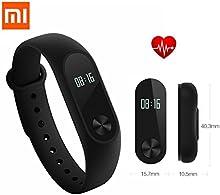 SILE Mi 2 Band Itenligente actividad Frecuencia Cardiaca Monitor Pulsera para iOS/Android
