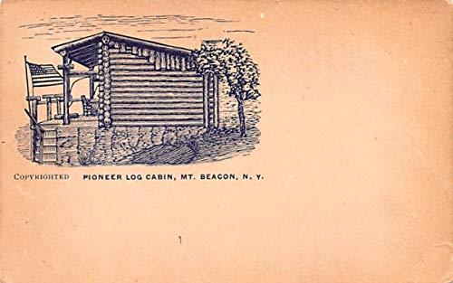 Pioneer Log Cabin Beacon, New York Postcard