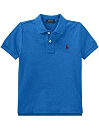 cadd76214 Ralph Lauren Boys Salmon red Cotton Polo T Shirt Age 2 (Age 2)