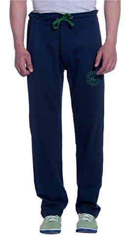 Tag 7 Men's Fleece Track Pant (TP05-M, Blue, Medium)