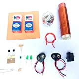 SR Robotics Tesla Coil Project kit with 2 Battery