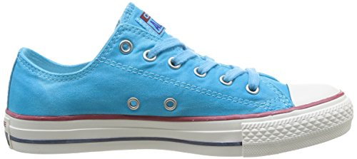 Converse - Chuck Taylor All Star Wash Ox, Sneaker Unisex – Adulto blu - blu