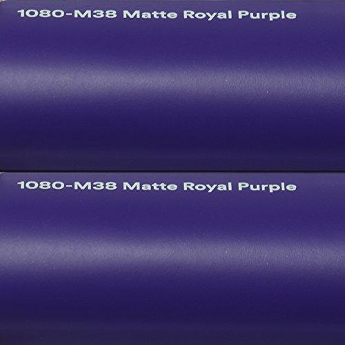 3M Autofolie Scotchprint Wrap Film 1080 matte royal purple gegossene Matt Profi Folie 152cm breit BLASENFREI mit Luftkanäle