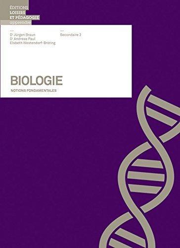 Biologie - Notions Fondamentales Sii de Landolt/Gfeller (4 juillet 2012) Reli