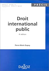 DROIT INTERNATIONAL PUBLIC. 4ème édition