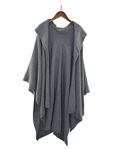 Certeux - Poncho - Cappotto -  donna Grey#145