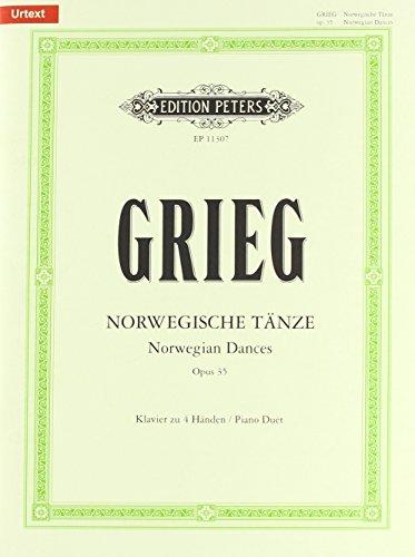 Norwegische Tänze: Opus 35