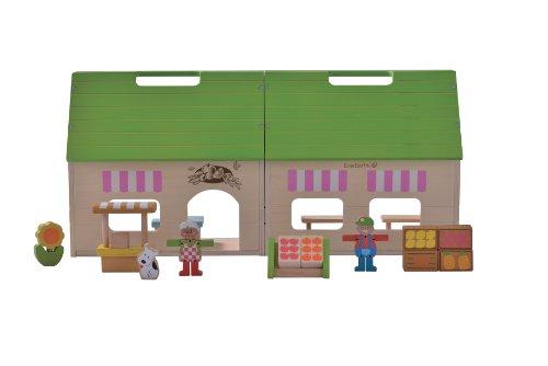 EverEarth - Casita de muñecas Tienda ecológica (EE33609)