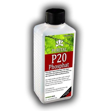 Purital P20 Supreme Phosphatdünger HIGH-TECH Phosphat Flüssig Dünger