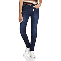 Jealous 21 Women's Slim Jeans (JY2067_Blue_32)