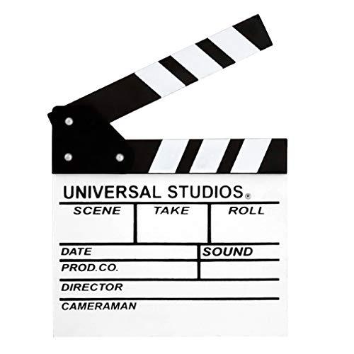 YOFO Filmschiefertafel Hollywood Regisseur Film Film Bühne Requisite, weiß, Einheitsgröße