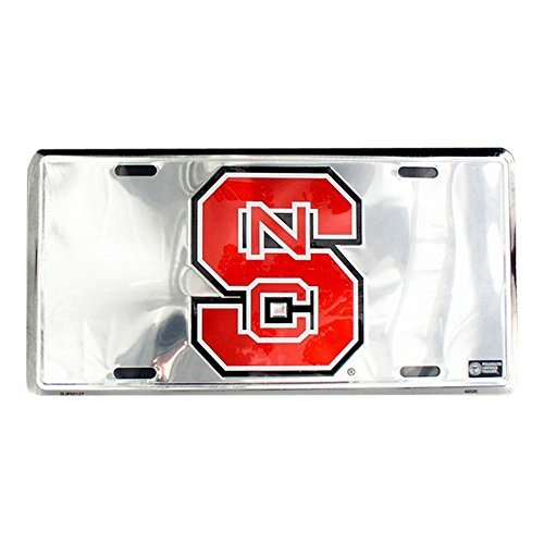 Chrome Vanity (North Carolina State University Wolfpack Novelty Vanity Metal Chrome License Plate Tag Sign SUP50127 by Smart Blonde)