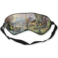 Amazing Village of Dorset 99% Eyeshade Blinders Sleeping Eye Patch Eye Mask Blindfold for Travel Insomnia Meditation preisvergleich bei billige-tabletten.eu