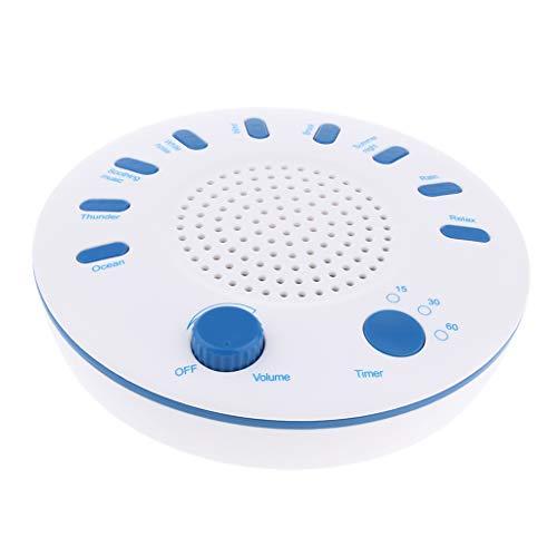 B Baosity Sleep White Noise Machine Beruhigende Natürliche Geräusche Weißes Rauschen Maschine 9 Sounds Schlafhilfe Gerät Sound Machine Sleep (Noise Machine Toy)