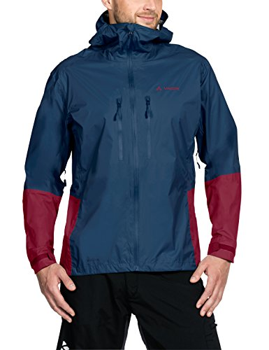 Vaude Herren Tremalzo Rain Jacket II Jacke, Fjord Blue, L