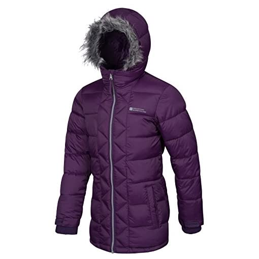 Mountain-Warehouse-Sally-Youth-Padded-Winter-Jacket-Water-Resistant-Adjustable-Stretch-Cuff-Soft-Padded-Insulation-Fur-Trim-Hoodie-Perfect-for-Everyday-Winter-Use
