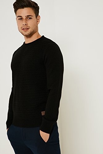 Threadbare - Pull - Homme noir noir Noir