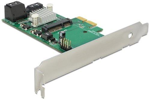 Preisvergleich Produktbild Delock PCI Express Karte > Hybrid 3 x intern SATA 6 Gb
