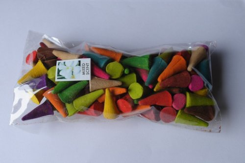 100-piece-mixed-scent-incense-cones-with-incense-cone-cup