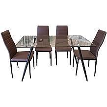 conjunto mesa y sillas de comedor