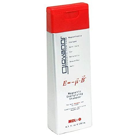 Giovanni Magnetic Energizing Shampoo, 8.5 fl oz Containers (Pack of