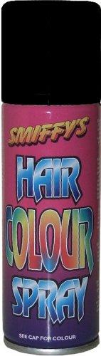Smiffys Farbiges Haarspray-Schwarz.
