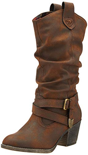 Rocket Dog Sidestep, Botas Camperas para Mujer, Marrón Brown Graham, 40 EU