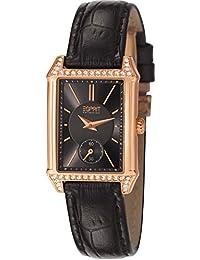 Esprit Collection Damen-Armbanduhr Alke Analog Quarz Leder EL101992F04
