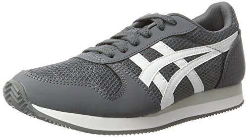 Asics Curreo II - Zapatos de Gimnasia Hombre, Gris (Carbon/White), 39.5 EU